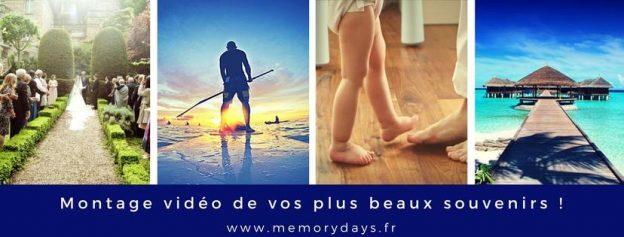 memorydays entreprise montage video