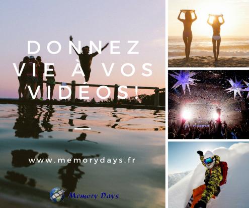 montage video vacance famille enfants memorys days