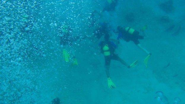 Vous pouvez faire de la plongée et du snorkeling à Matanzas photo blog voyage tour du monde https://yoytourdumonde.fr