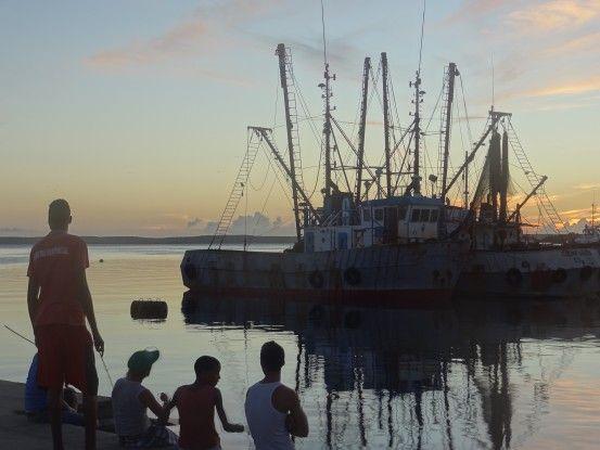 L'une des plus belles baies du monde se trouve à Cienfuegos à Cuba, photo blog voyage tour du monde https://yoytourdumonde.fr