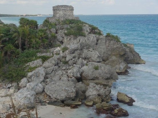 Mexique Tulum entre ruine Maya et plage photo blog voyage tour du monde https://yoytourdumonde.fr