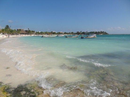 Akumal plage Mexique Photo blog tour du monde https://yoytourdumonde.fr