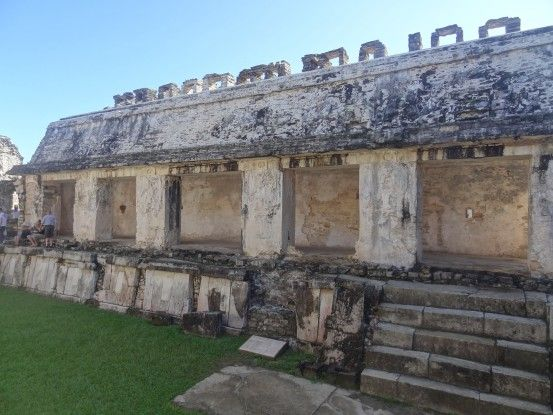 Une partie du Palacio sur le site Maya de Palenque photo blog voyage tour du monde https://yoytourdumonde.fr