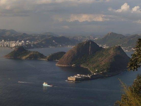 Sur le Pain de Sucre à Rio de Janeiro au Brésil photo blog voyage tour du monde travel https://yoytourdumonde.fr