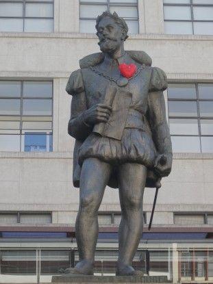 Statue à Sao Paulo au Brésil