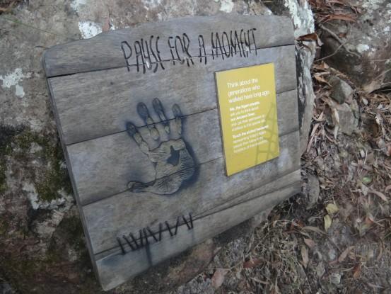 Australie- Whitsunday: Sur les traces des Aborigenes de la region.