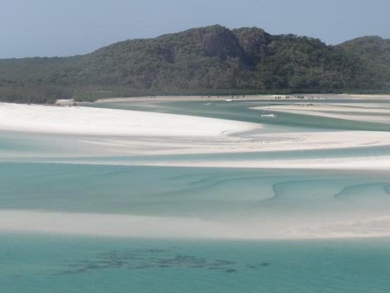 Australie- Whitsunday; Et la voici la 2eme plus belle plage du monde!!!