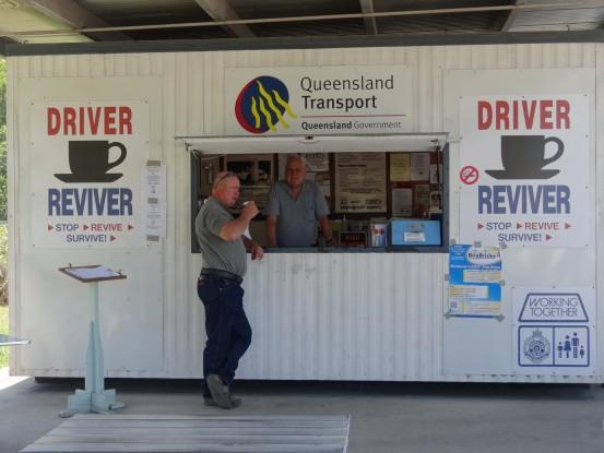 Australie- Queensland: Les dauphins de Tin Can Bay, la reception.