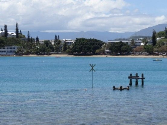 Voyage en Nouvelle-Caledonie: Belle plage a Noumea