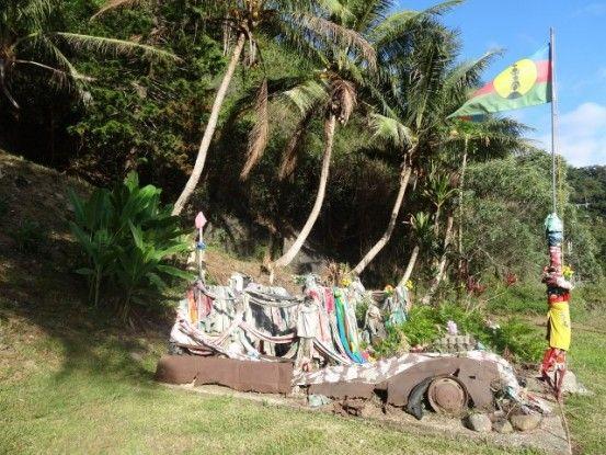 Nouvelle-Caledonie: Arrivé sur le lieu du drame
