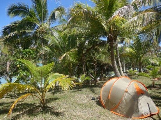 Lifou, plage, camping