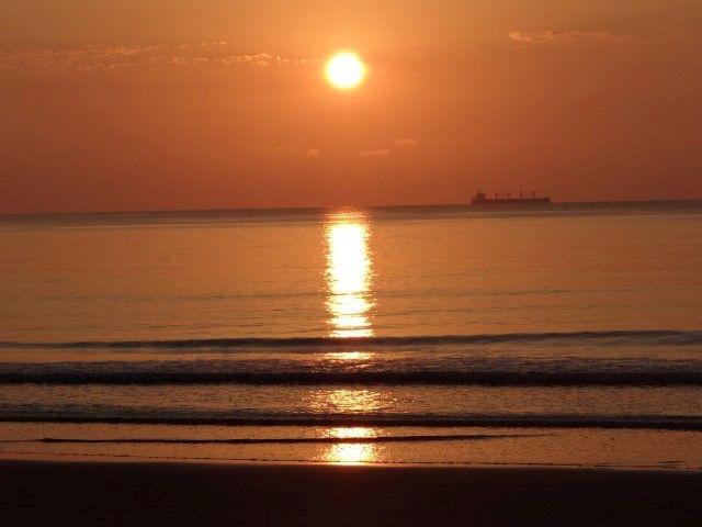 Australie- Queensland: Cap Tribulation: Soleil qui se couche sur le Daintree National Park.