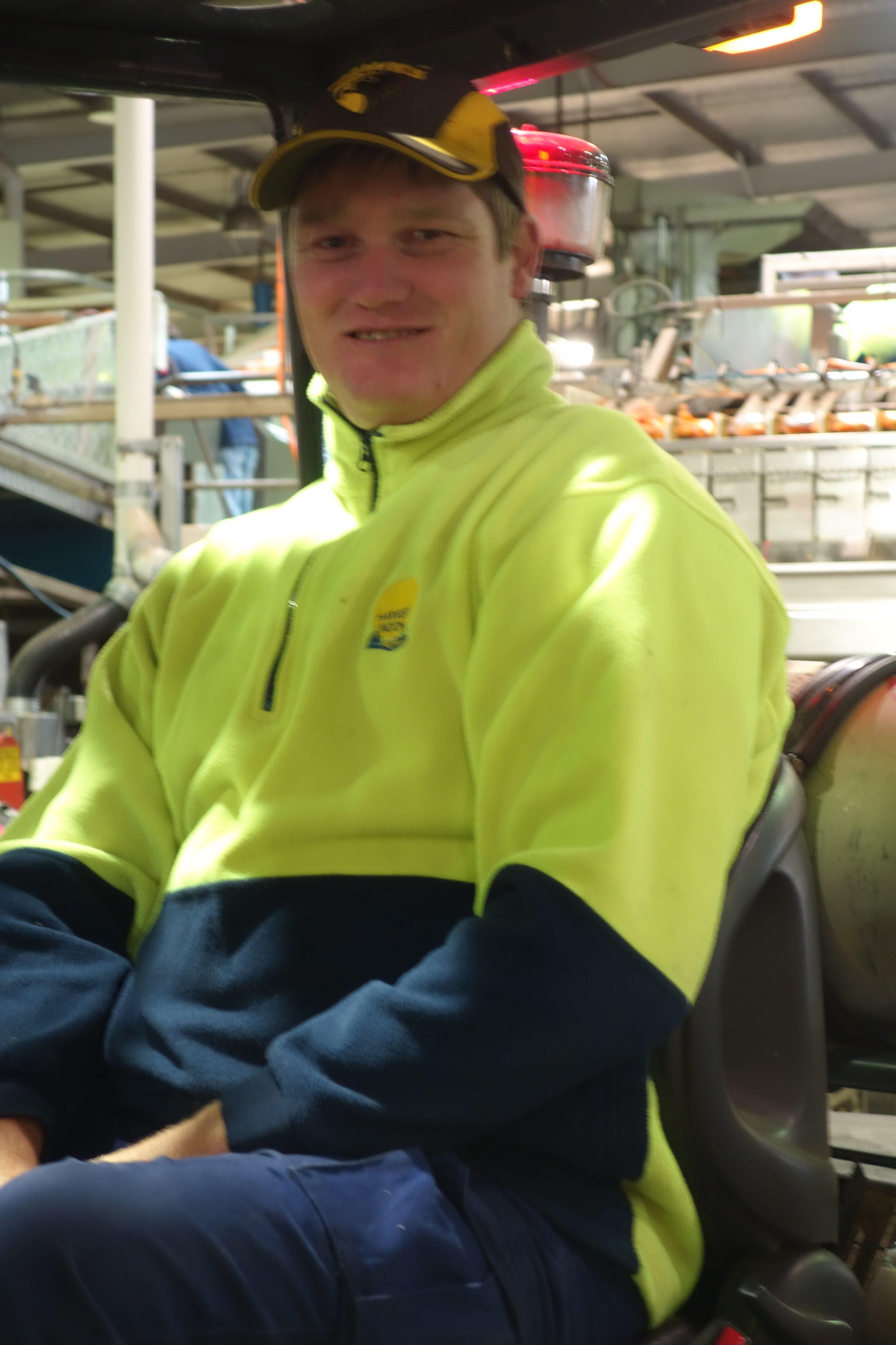 Australie- Tasmanie: Ahh Dave, un Australien très sympa qui m'aura bien aide par moment...