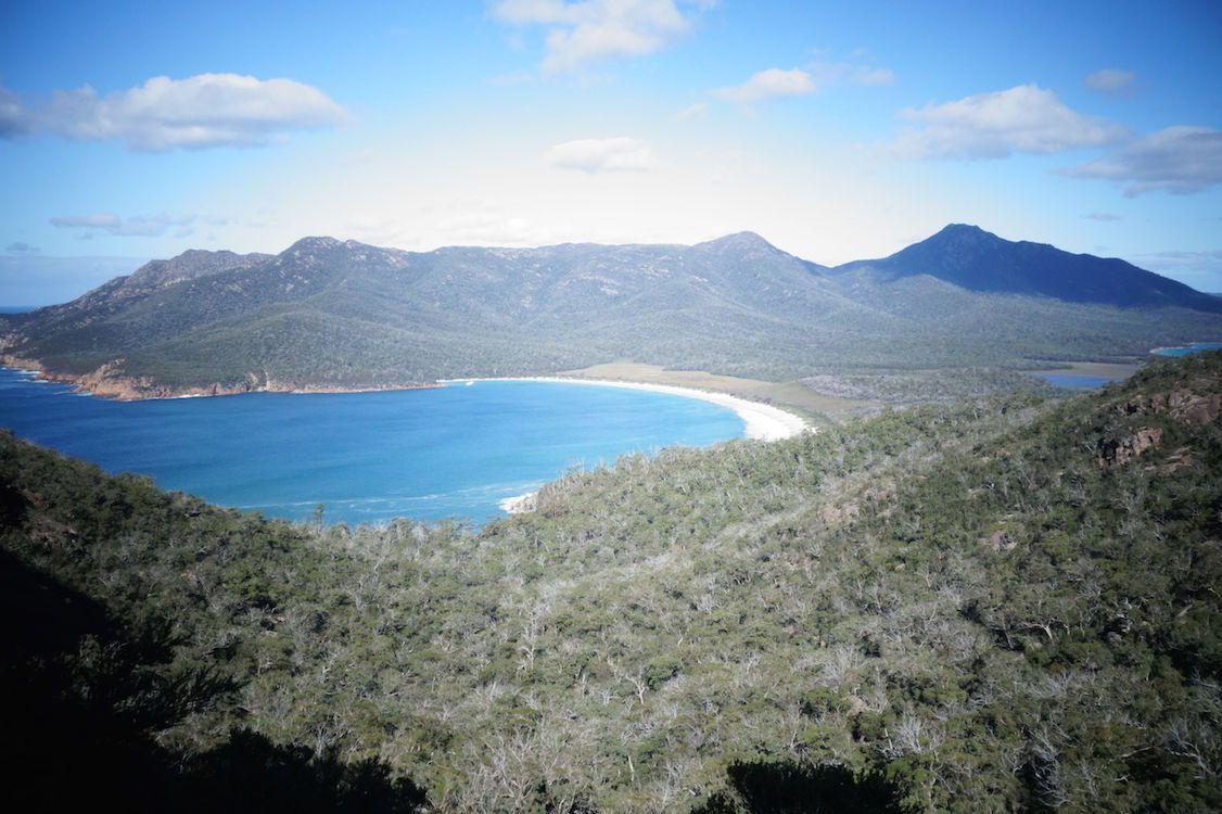 Australie- Tasmanie: WINEGLASS BAY....