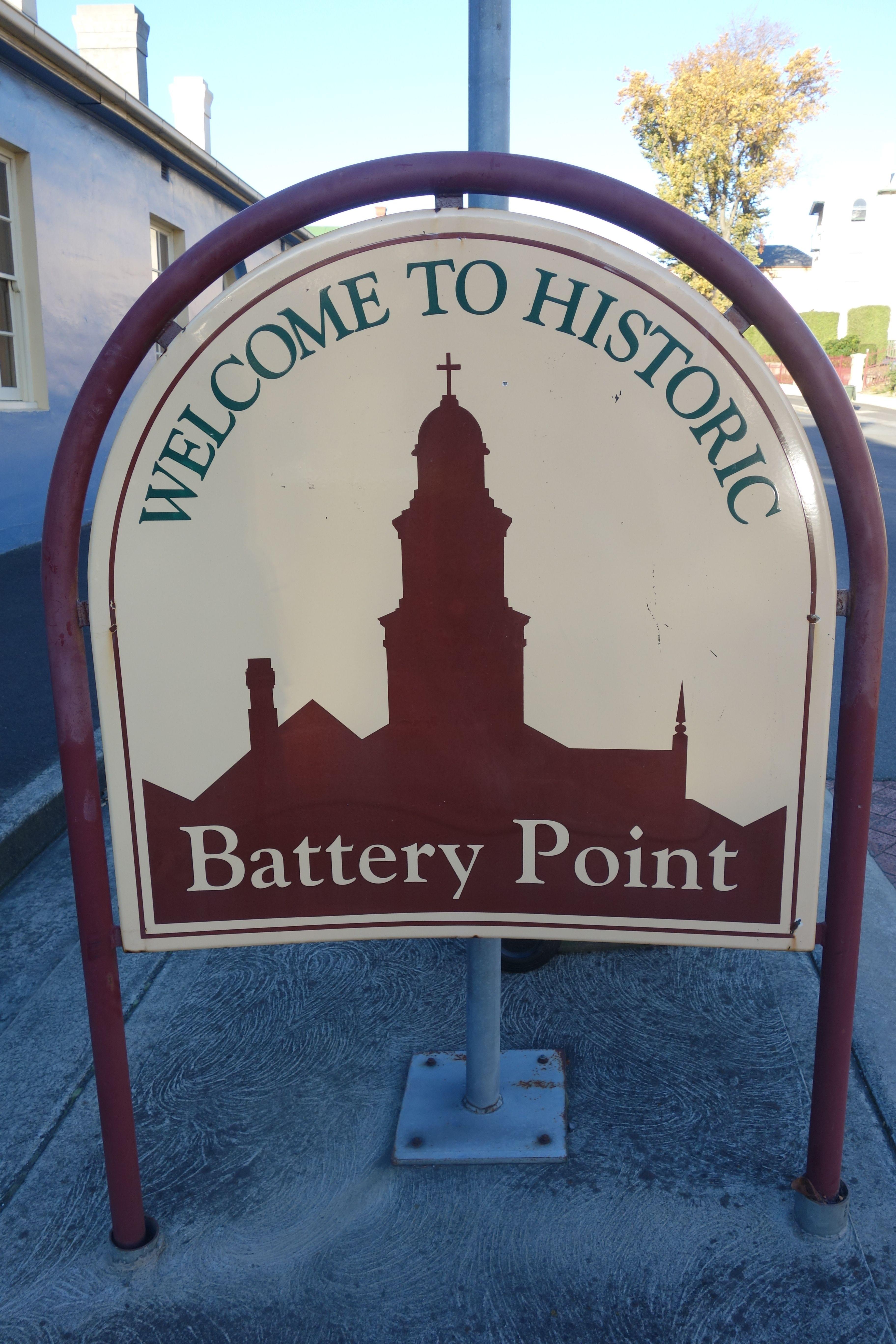 Australie- Tasmanie: La partie historique d'Hobart.