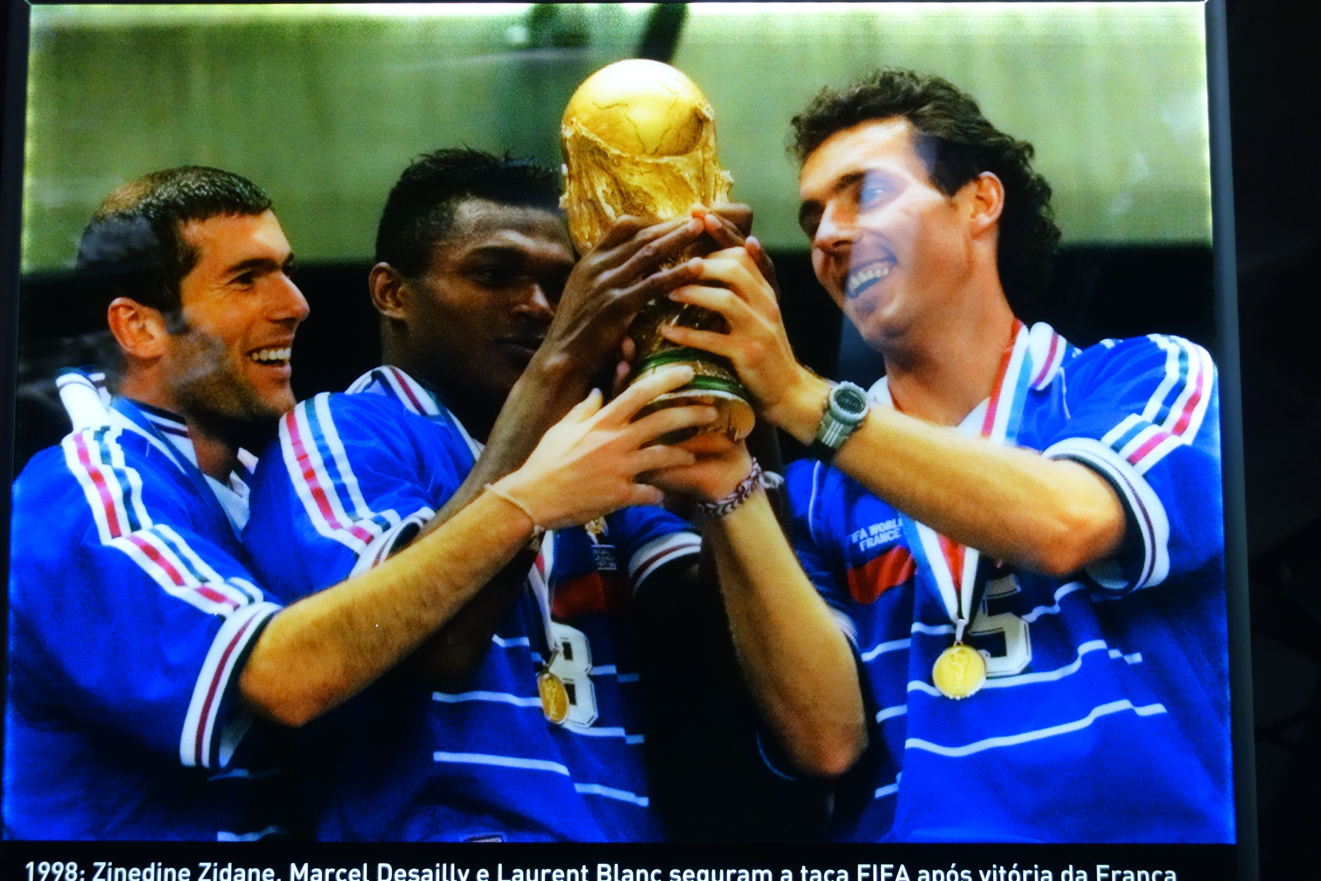 COUPE DU MONDE DE FOOTBALL: Musee du football a Sao Paulo.