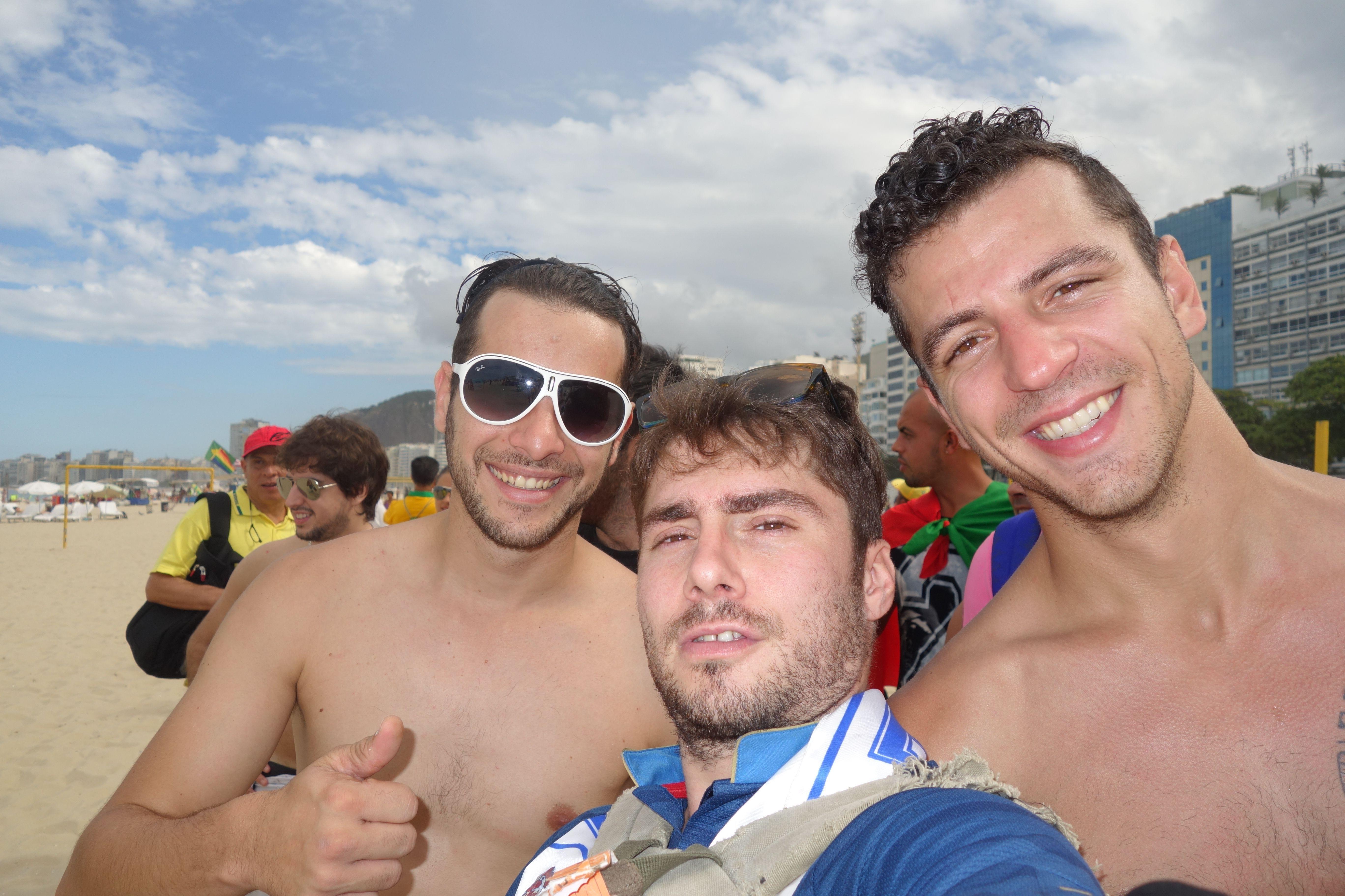 Coupe du Monde Bresil 2014: Je retrouve Alex et Mika.