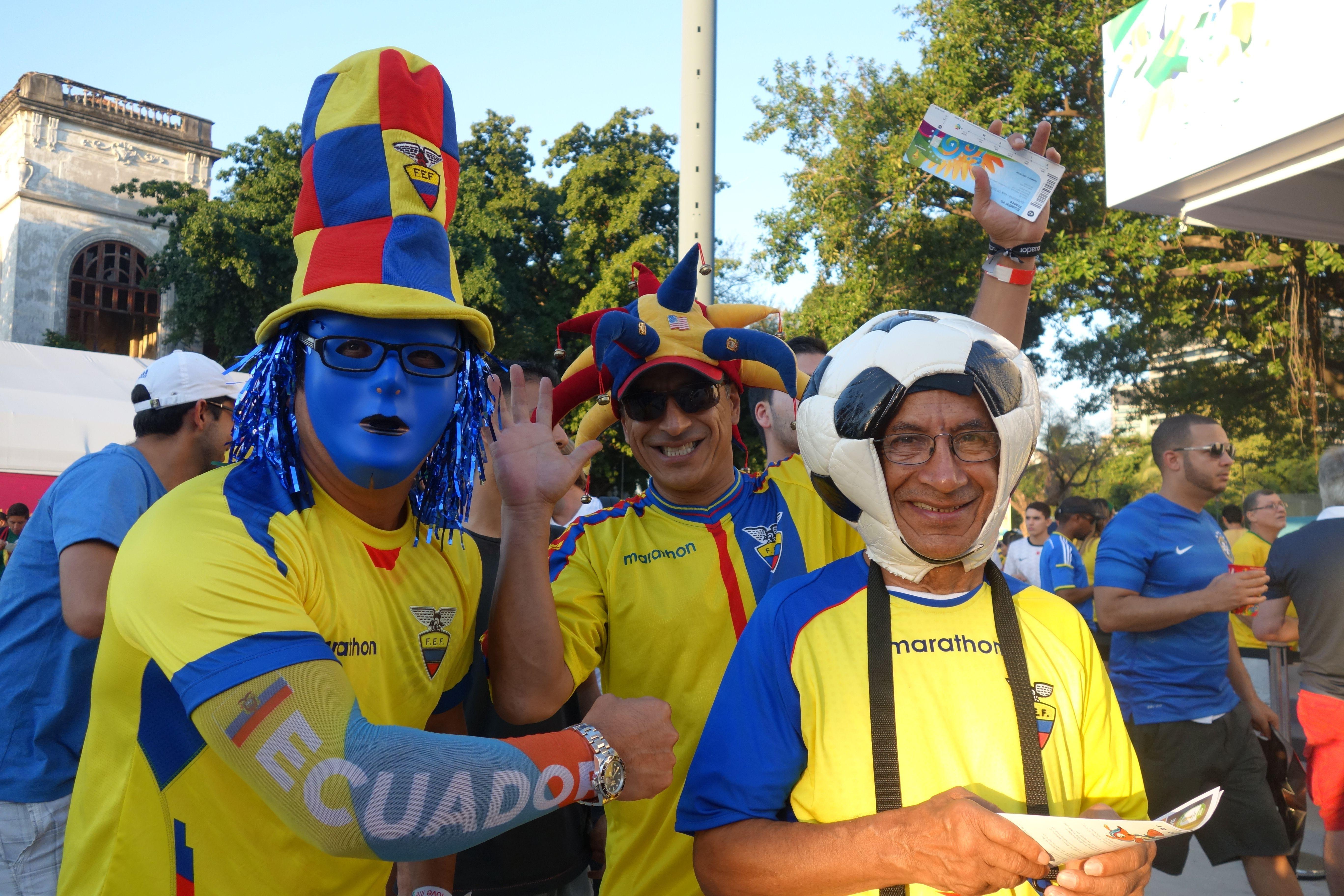 Coupe du Monde de Football: En allant vers le Maracana