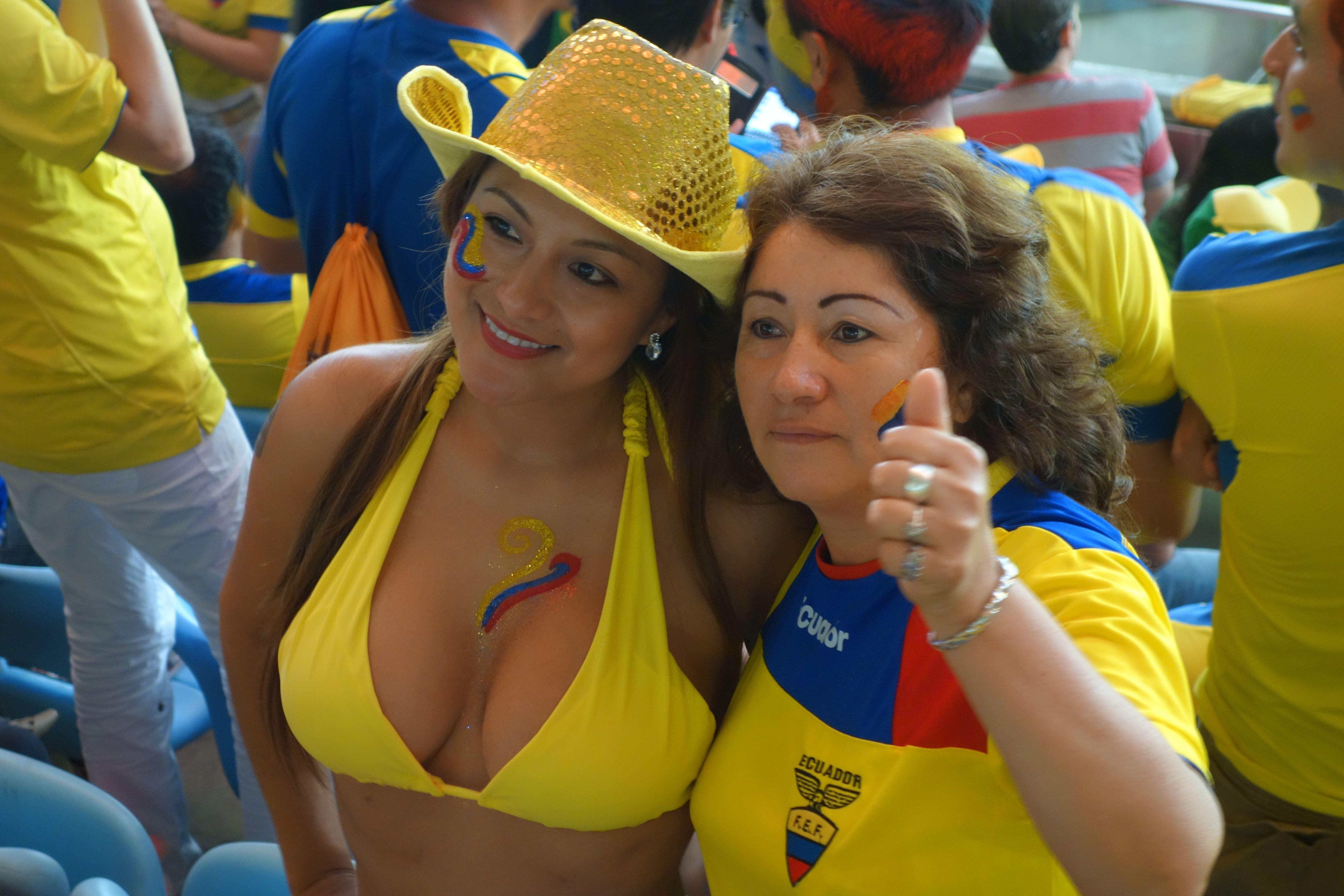 Coupe du Monde de Football: France-Equateur au Maracana