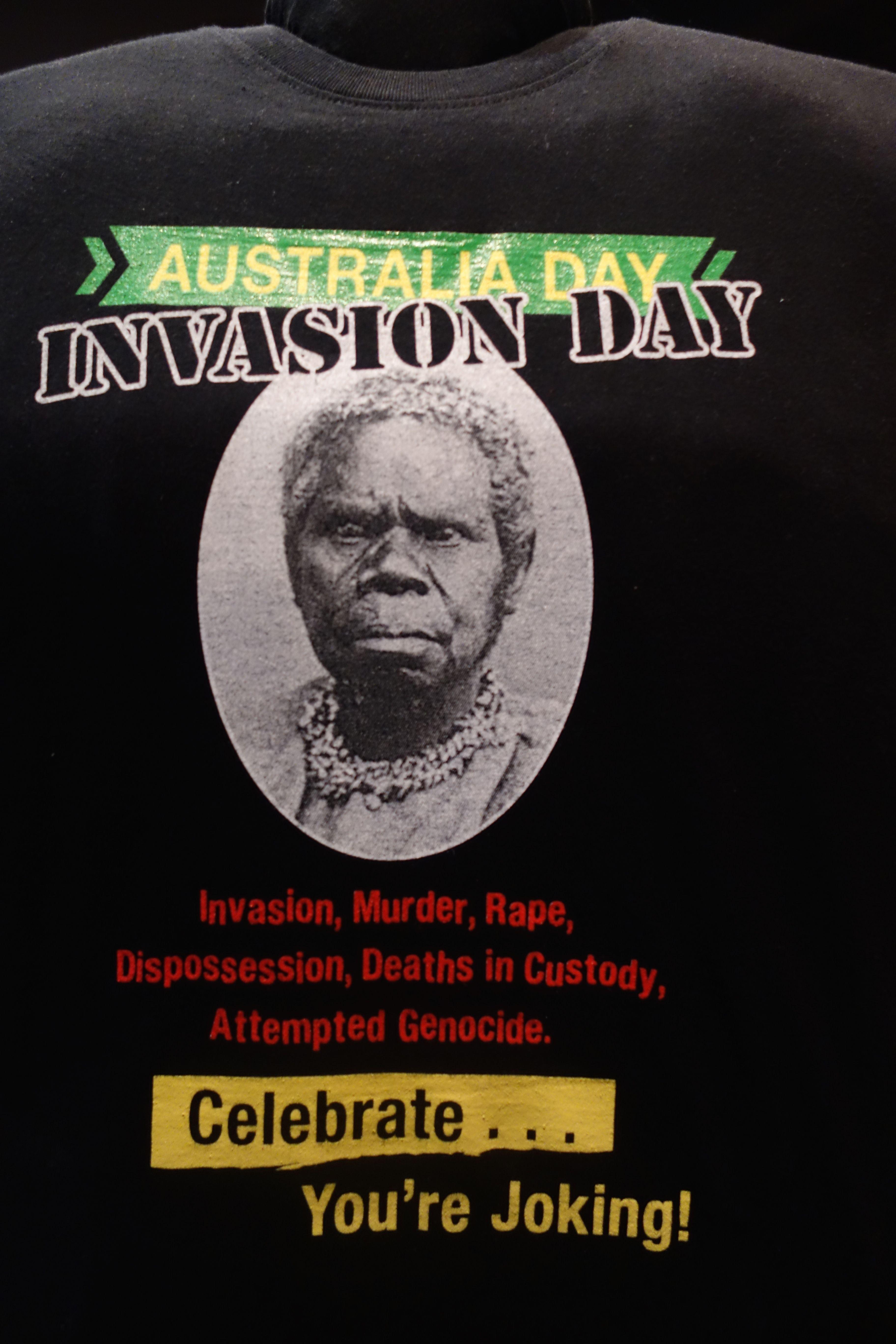 Australie- Tasmanie: Un Tee-shirt qui m'a beaucoup plus.