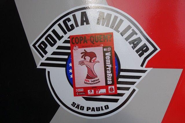 Bresil- Coupe du Monde de Football 2014: Attention certains policiers de la POLICE MILITAIRE BRESILIENNE sont corrompues!!!