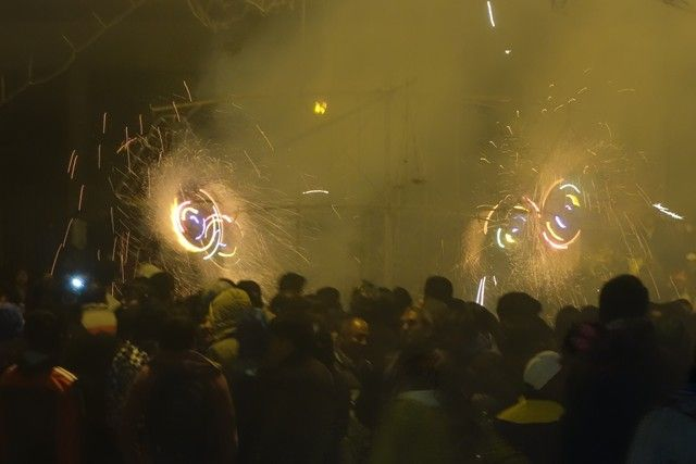 Perou-Huaraz: Feu d'artifice.
