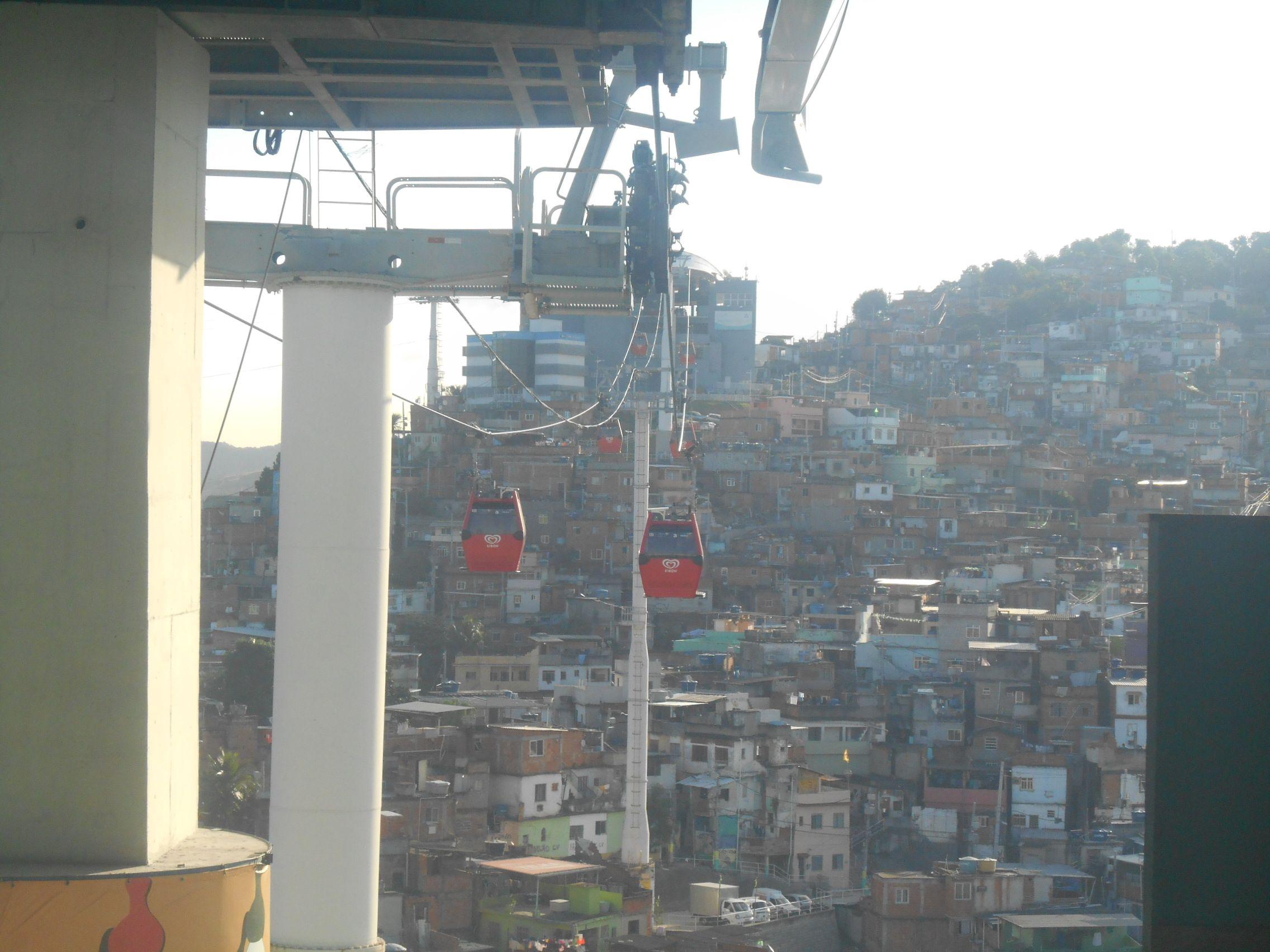 Bresil- Rio de Janeiro: Favela Complexo do Alemão