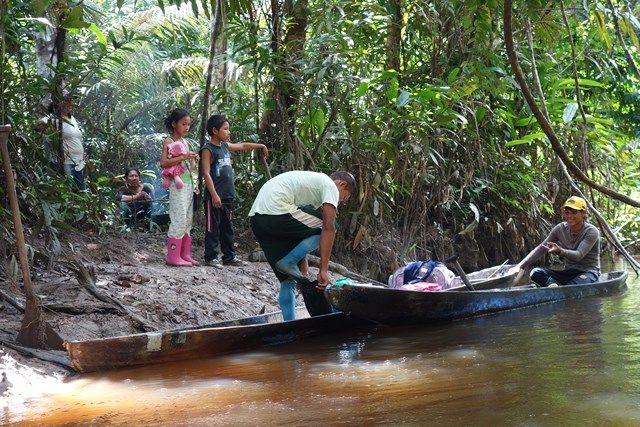 Pérou-Réserve Pacaya Samiria: Les locaux qui travaillent pour la reserve.