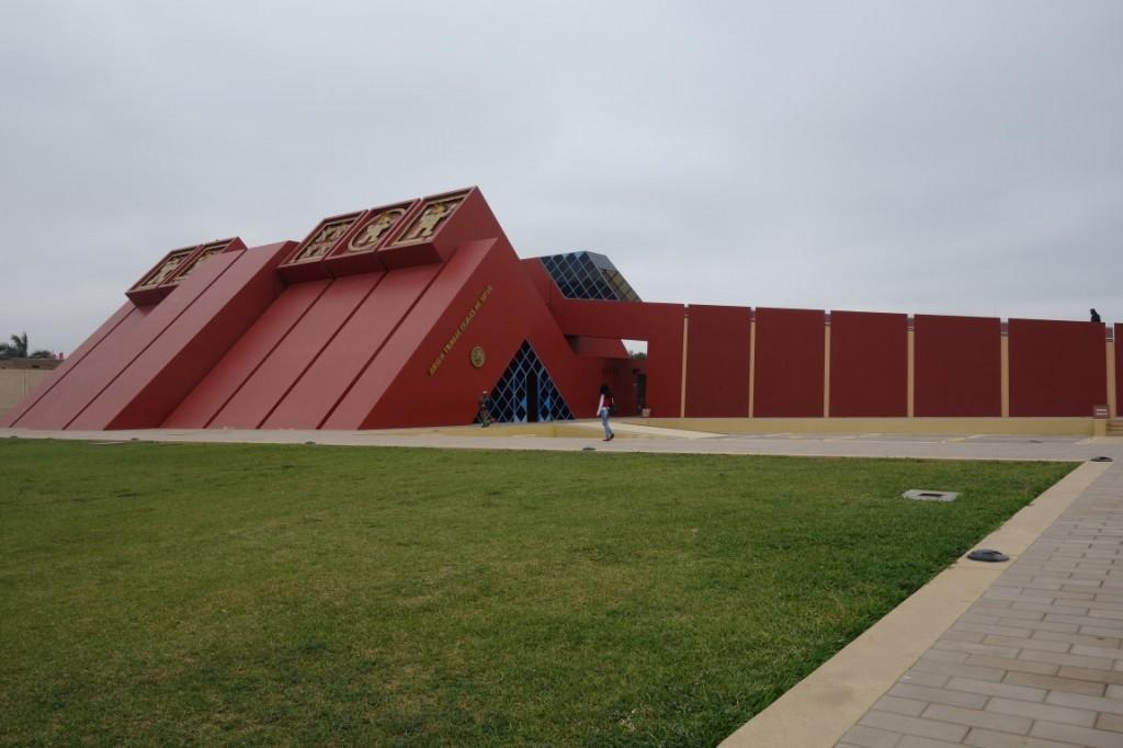 Perou: Le musée de Chiclayo sur la découverte du Seigneur de Sipan