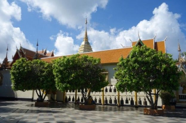 Temple Bouddhiste pres de Chiang Mai.