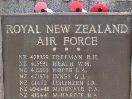 Nouvelle-Caledonie: Cimetiere des Soldats Neo-Zelandais.