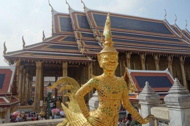 Voyage en Thailande: Découverte du Palais Royal.