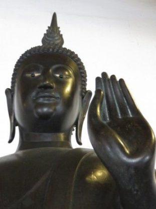 Voyage à Bangkok: Certains temple sont vue du fleuve