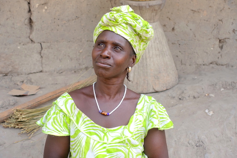 Habitante de Bouyouye en Casamance photo blog voyage tour du monde https://yoytourdumonde.fr