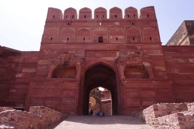 Fatehpur Sikri en Inde entre citadelle, mosquée et histoire unesco photo blog voyage tour du monde https://yoytourdumonde.fr