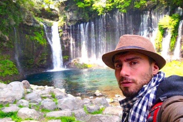Japon Cascade de Shiraito à Fujinomiya à coté du Mont Fuji photo blog voyage tour du monde https://yoytourdumonde.fr