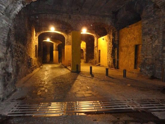 Les tunnels de la ville de Guanajuato photo blog voyage tour du monde https://yoytourdumonde.fr