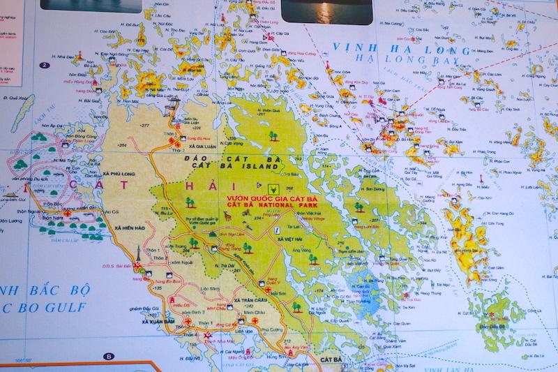 carte Baie d'Halong photo voyage tour du monde http://yoytourdumonde.fr
