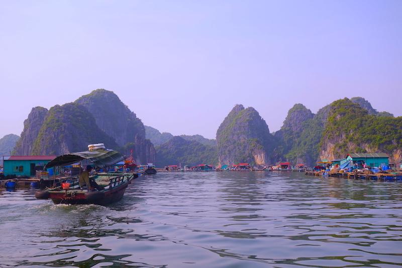 Vietnam Baie d'Halong photo voyage tour du monde http://yoytourdumonde.fr