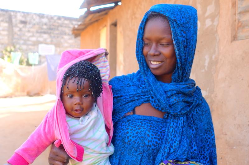 Dans l'un des nombreux quartiers de Ziguinchor au Sénégal photo blog voyage tour du monde https://yoytourdumonde.fr