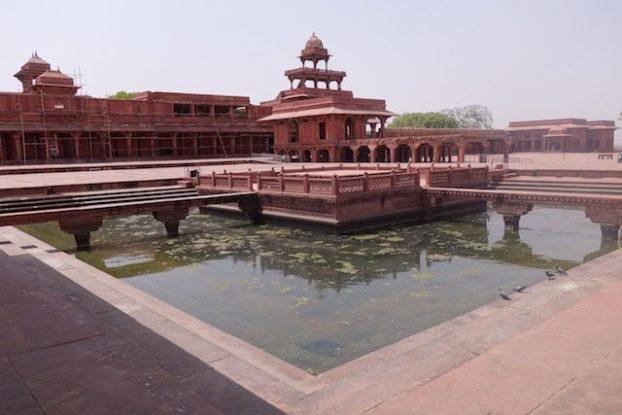 Palais Akbar Fatehpur Sikri en Inde photo blog voyage tour du monde https://yoytourdumonde.fr