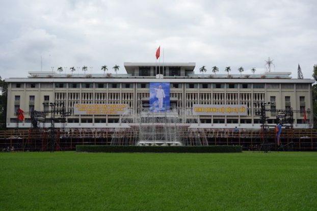 Vietnam: Le grand Palais de la réunification de Saigon.