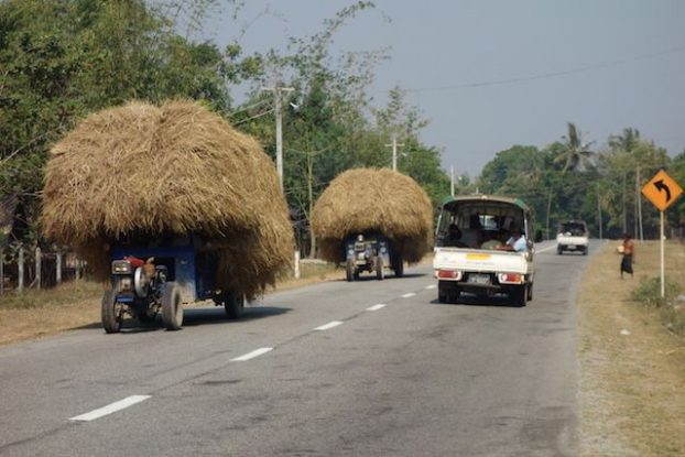 Birmanie-Mawlamyine: J'ai reussi à louer un scooter pour visiter la campagne de Mawlamyine. Avec quelques surprises....