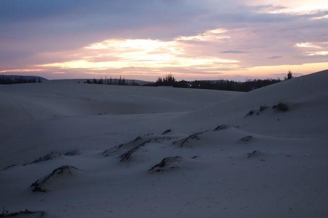 le soleil se leve sur le desert de Mui Ne blog http://yoytourdumonde.fr