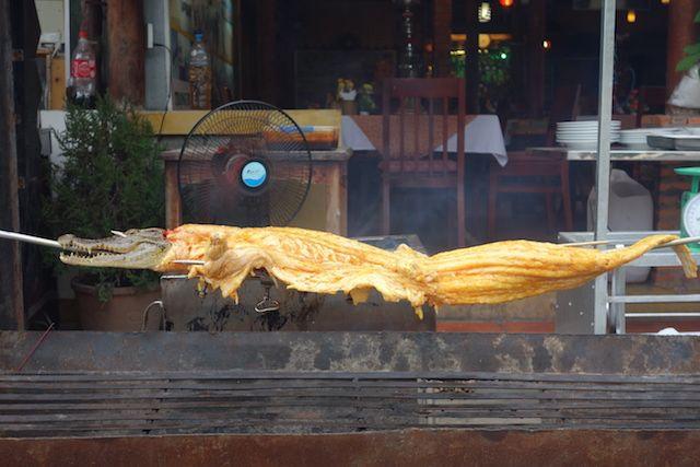 a mui ne au sud du vietnam vous pouvez manger du crocodile blog http://yoytourdumonde.fr