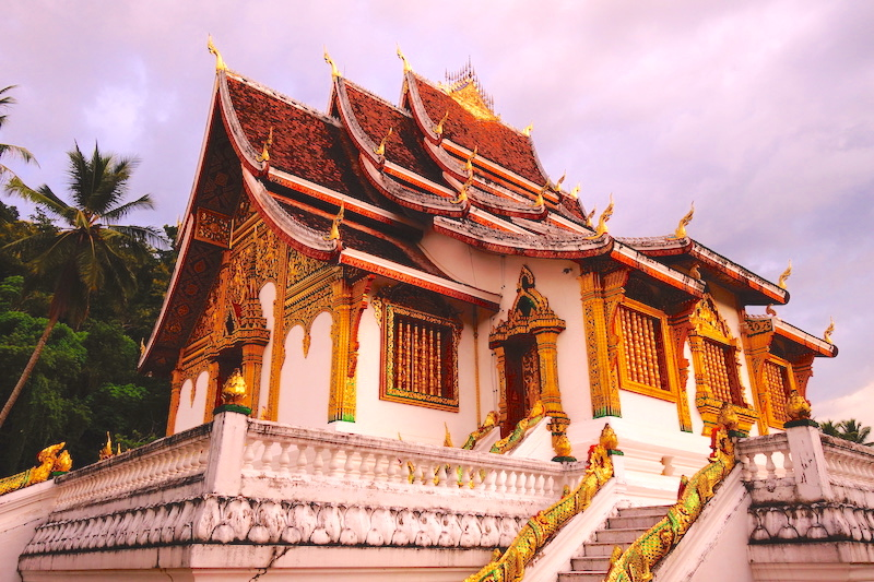 Palais Royal de Luang Prabang laos photo blog voyage tour du monde http://yoytourdumonde.fr