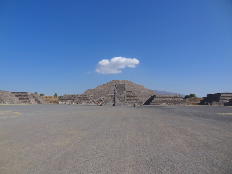 Mexique Teotihuacan près de Mexico City photo blog voyage tour du monde travel https://yoytourdumonde.fr