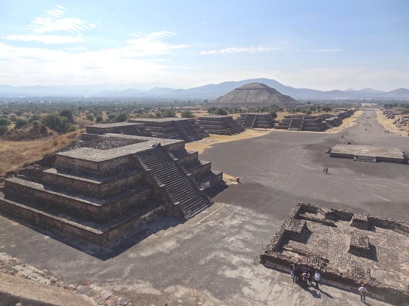 Teotihuacan à 45km de Mexico City photo blog voyage tour du monde travel https://yoytourdumonde.fr