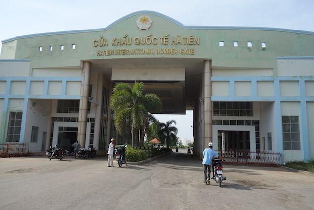 Le poste frontiere du Vientam à quelques kilomètres se trouve le Cambodge.