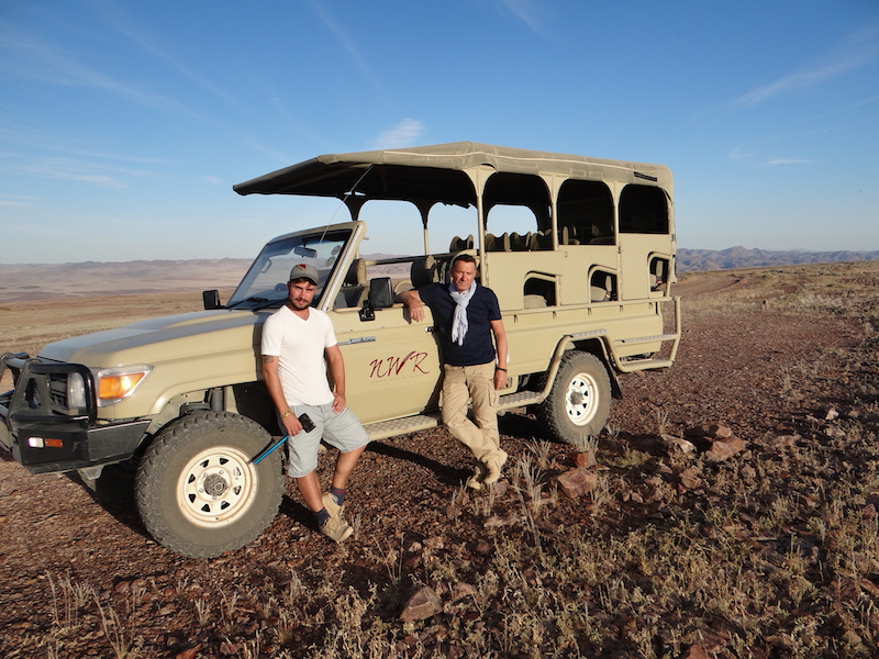 Visite du Fish River Canyon en 4x4 en Namibie photo blog voyage tour du monde travel https://yoytourdumonde.fr
